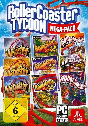 ATARI RollerCoaster Tycoon Mega-Pack PC