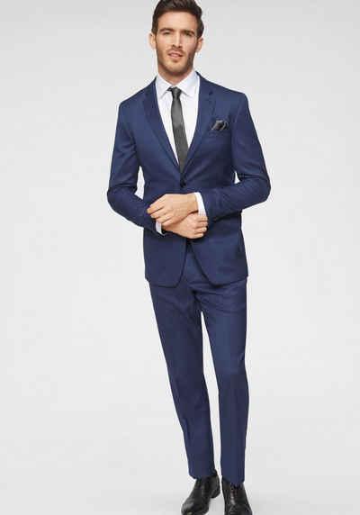 671e5eed567760 GUIDO MARIA KRETSCHMER Anzug (2-tlg) Leichte Qualität im angesagten Blauton