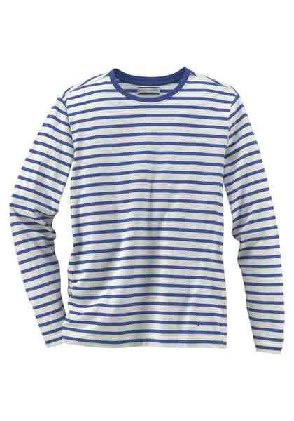 GUIDO MARIA KRETSCHMER Langarmshirt Single Jersey- Qualität