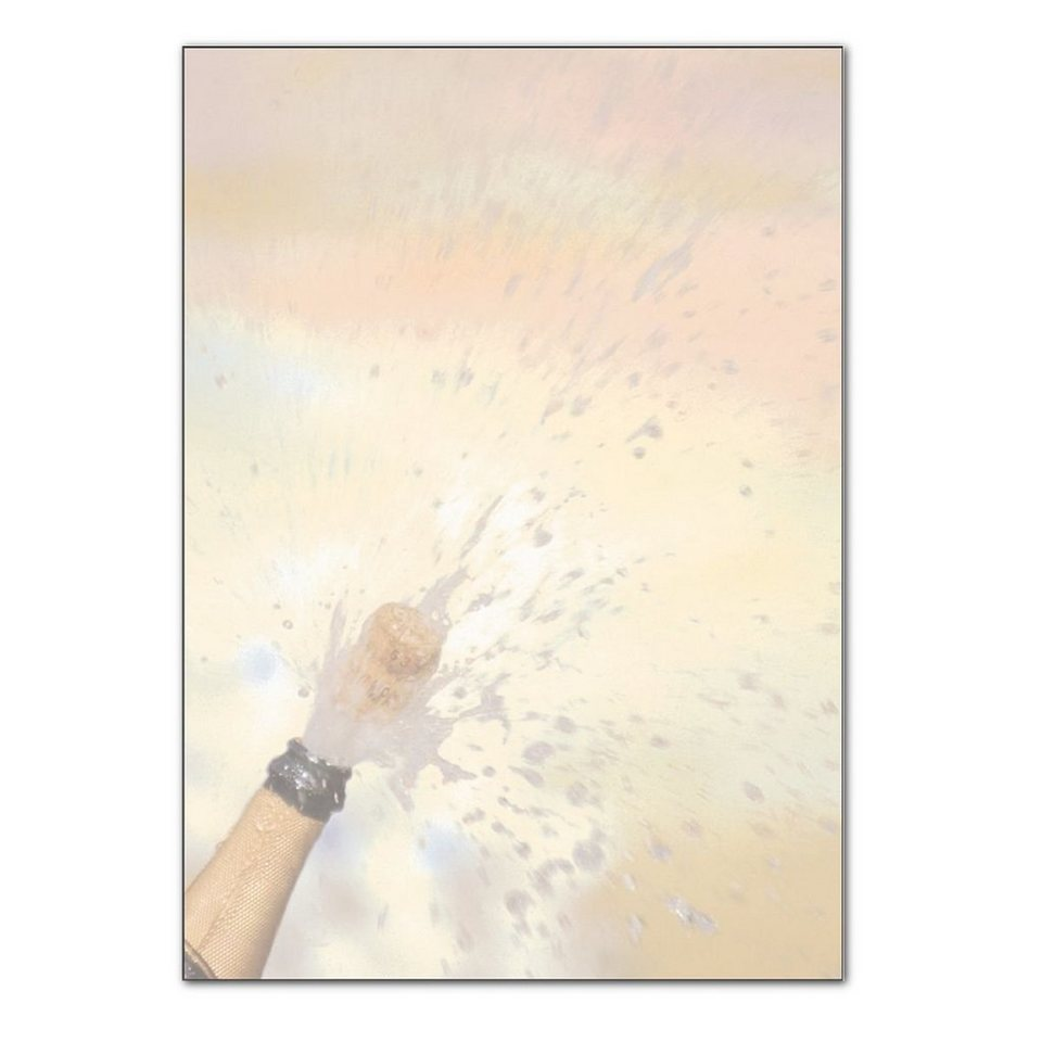 Sigel Motivpapier »Champagner«