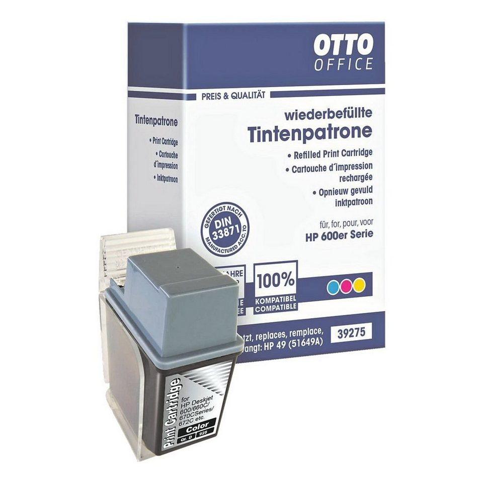 OTTO Office Standard Tintenpatrone ersetzt HP »51649AE« Nr. 49