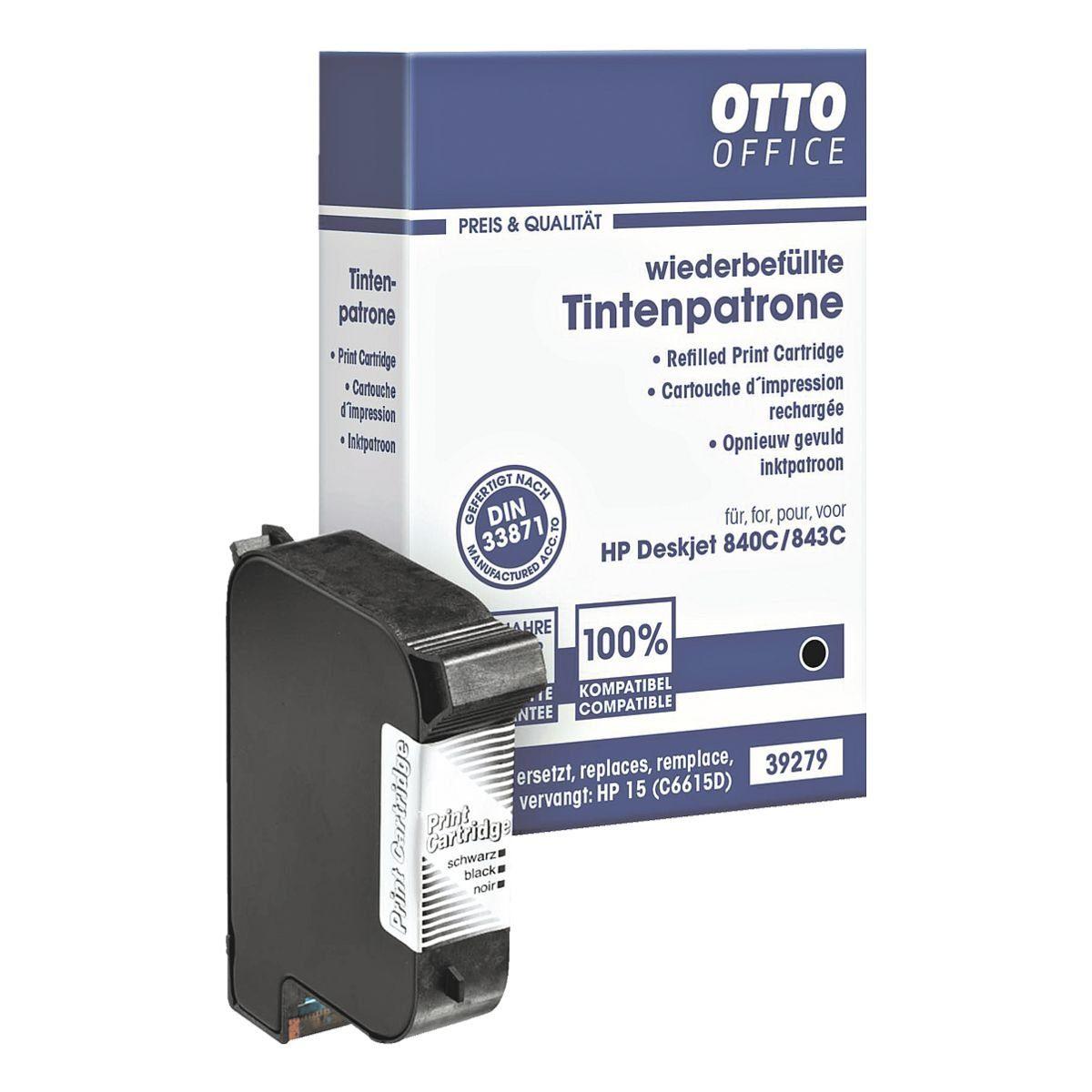 OTTO Office Standard Tintenpatrone ersetzt HP »C6615DE« Nr. 15