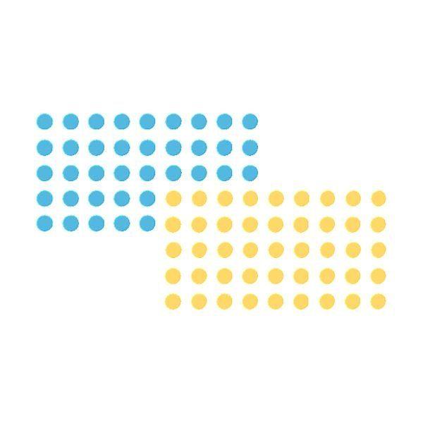 Franken Moderations-Klebepunkte