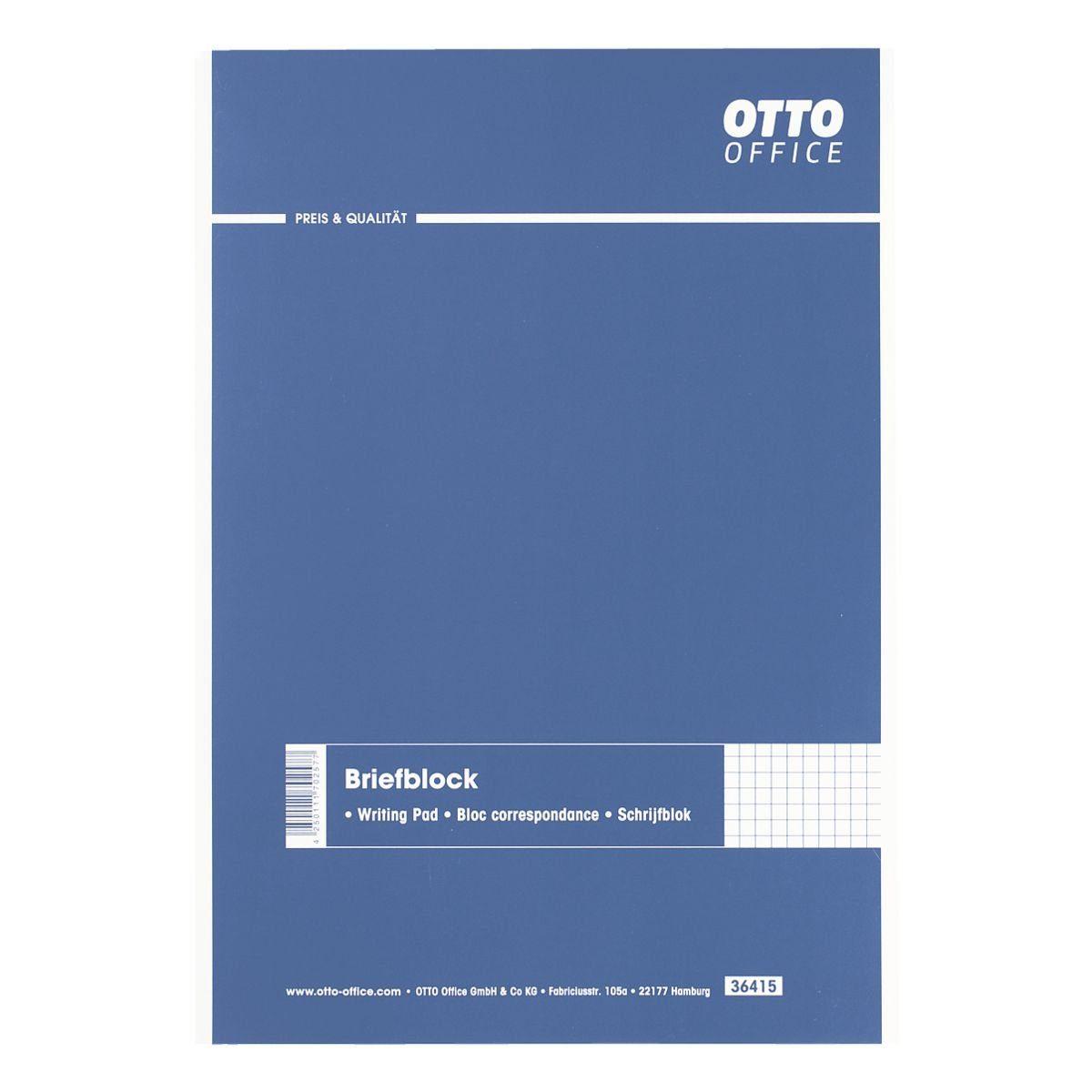 OTTO Office Standard Briefblock