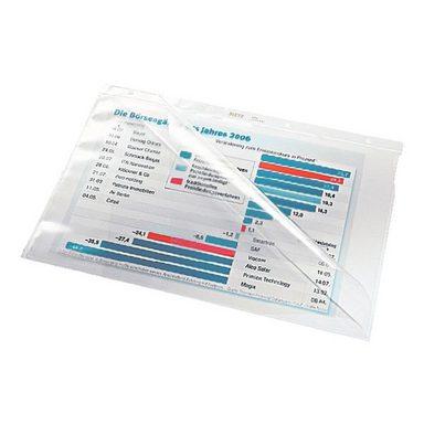 LEITZ Prospekthüllen A4 glasklar - 10 Stück (4744-30-00) »Premium 4744«