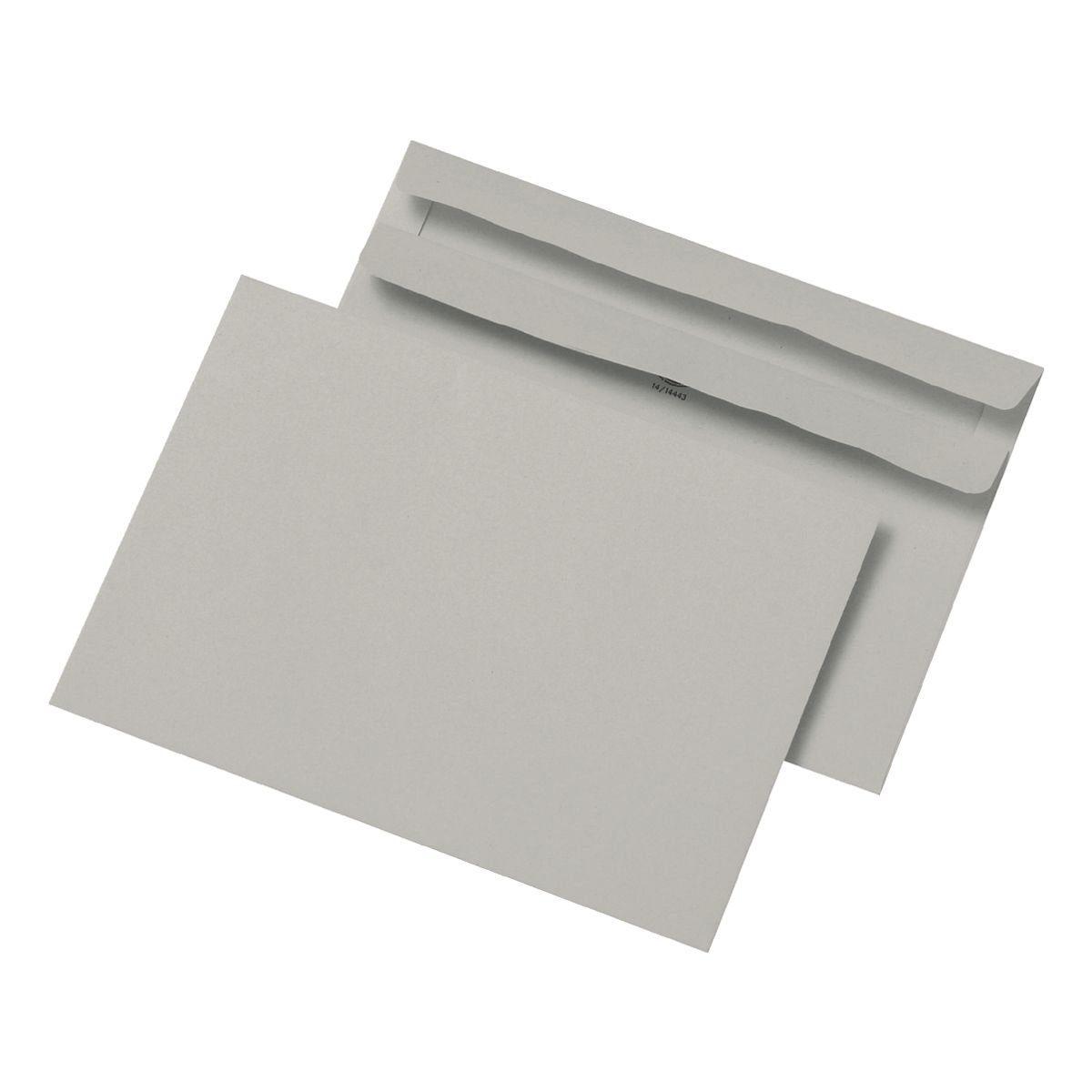 Mailmedia Briefumschläge DL ohne Fenster mit Selbstklebung