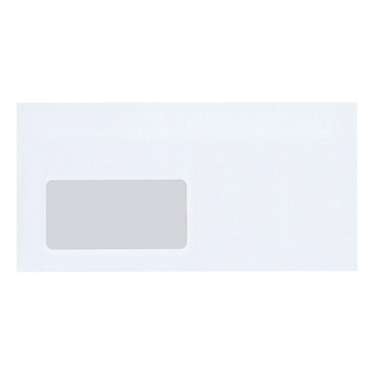 Mailmedia Briefumschläge DL mit Fenster und Nassklebung
