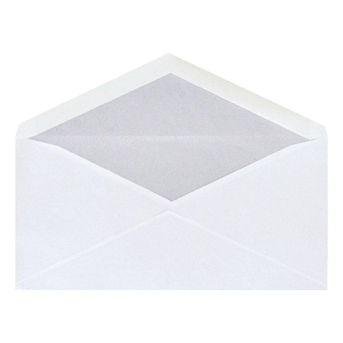 Mailmedia Briefumschläge DL ohne Fenster mit Nassklebung
