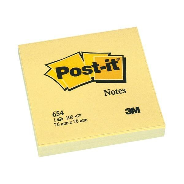 POSTITNOTES Haftnotizblock »Notes 654«