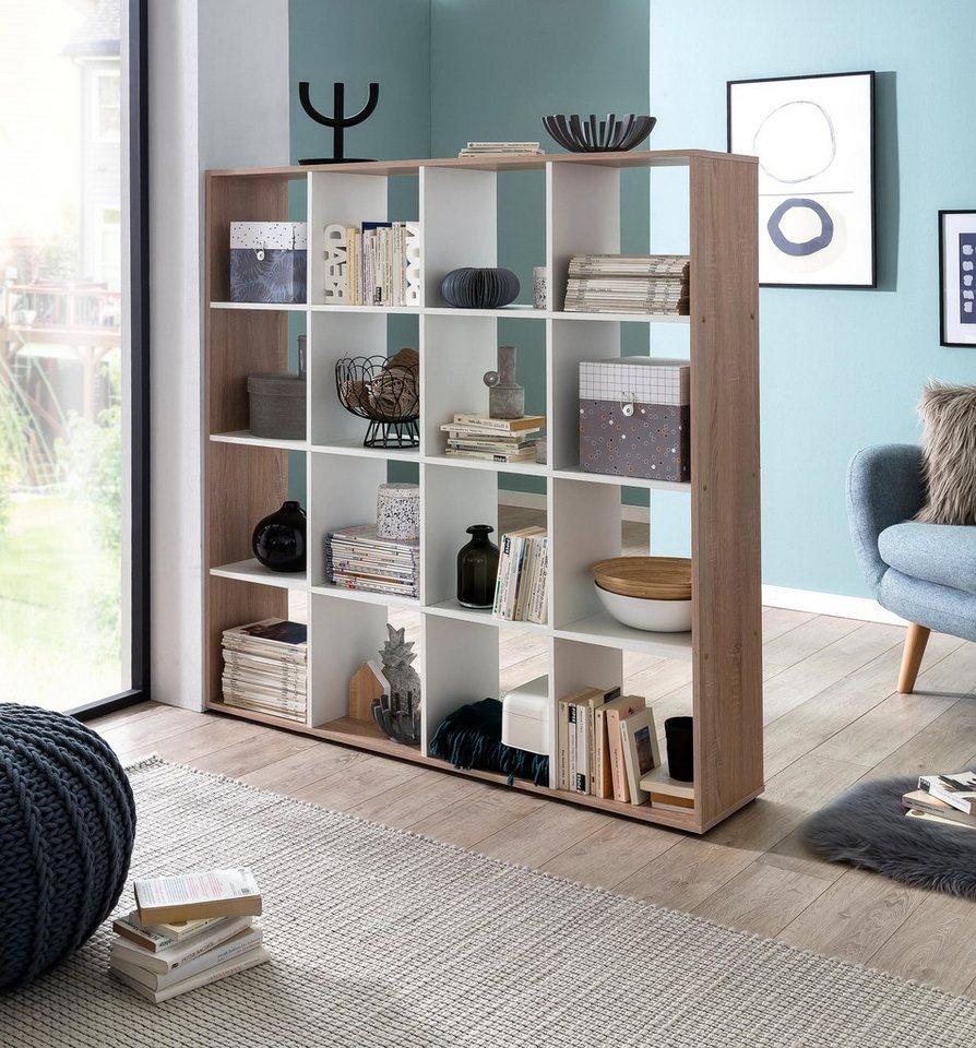 Regal/Raumteiler »Kaba« mit 16 Fächern kaufen | OTTO