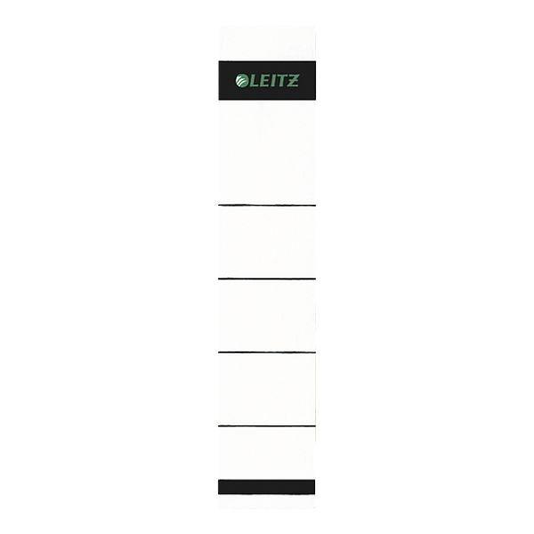 Leitz Selbstklebende Ordnerrücken-Etiketten in grau