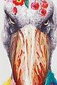 KARE Leinwandbild »Flowers Bird«, Vogel, teilweise handgemalt, Bild 4