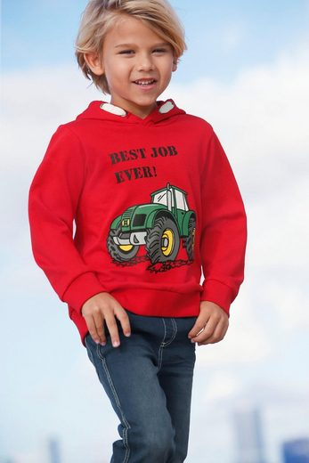 Arizona Kapuzensweatshirt »Traktor« Druck