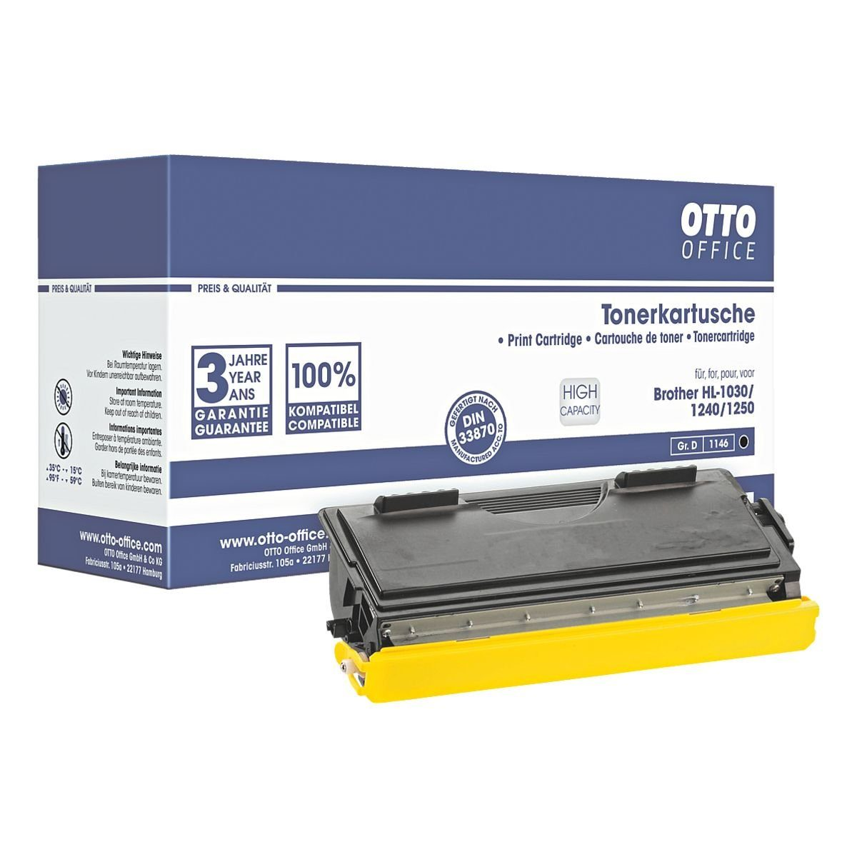 OTTO Office Standard Toner ersetzt Brother »TN-6600«