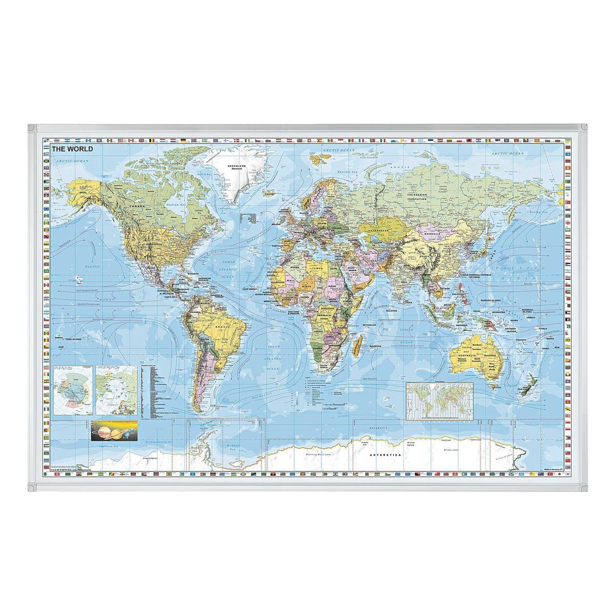 Franken Weltkarte »KA600W«