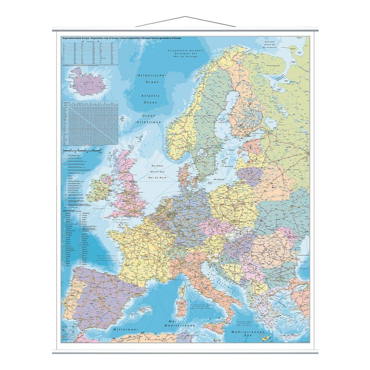 FRANKEN Europakarte »KAM700«