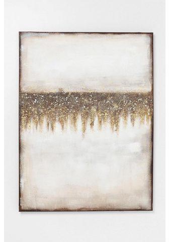 KARE Aliejinis paveikslas »Abstract Fields«...