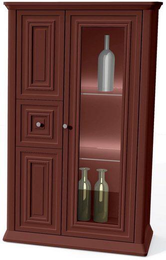 SELVA Vitrine »Romantica« Modelle 7520D und 7521D, Höhe 133 cm