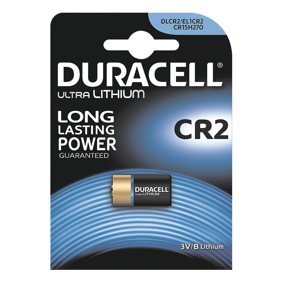 Duracell Photo Batterie CR2 / CR17355 »Photo Lithium Ultra«