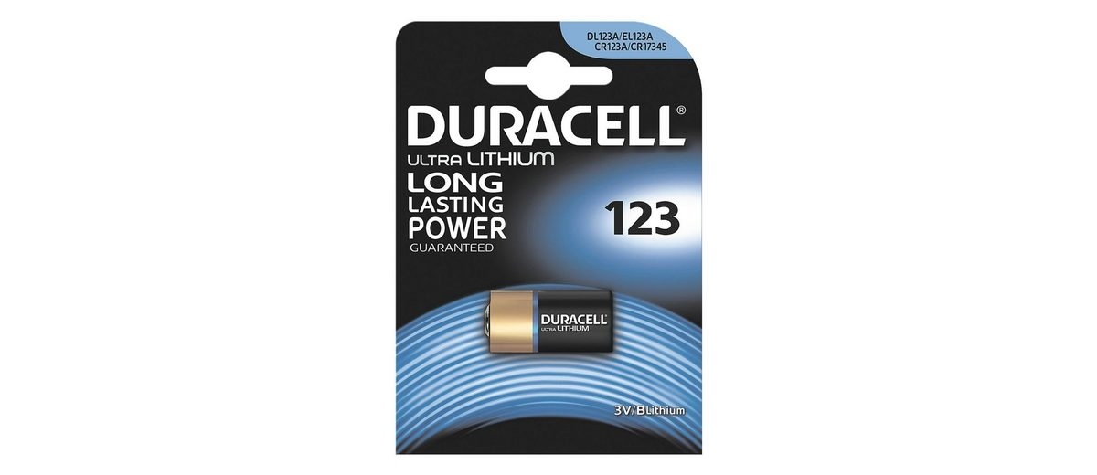 Duracell Photo Batterie »Photo Lithium Ultra« 123 / CR17345