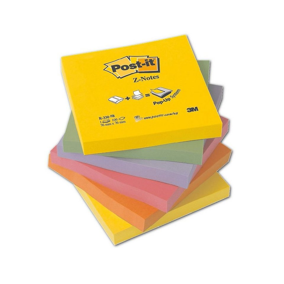 Post-It 6er-Pack Haftnotizblöcke »Z-Notes«