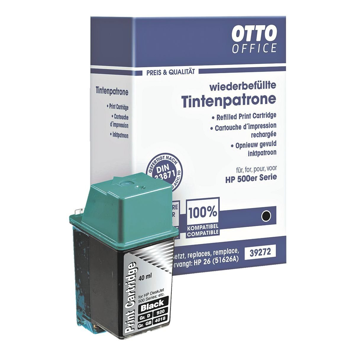 OTTO Office Standard Tintenpatrone ersetzt HP »51626AE« Nr. 26