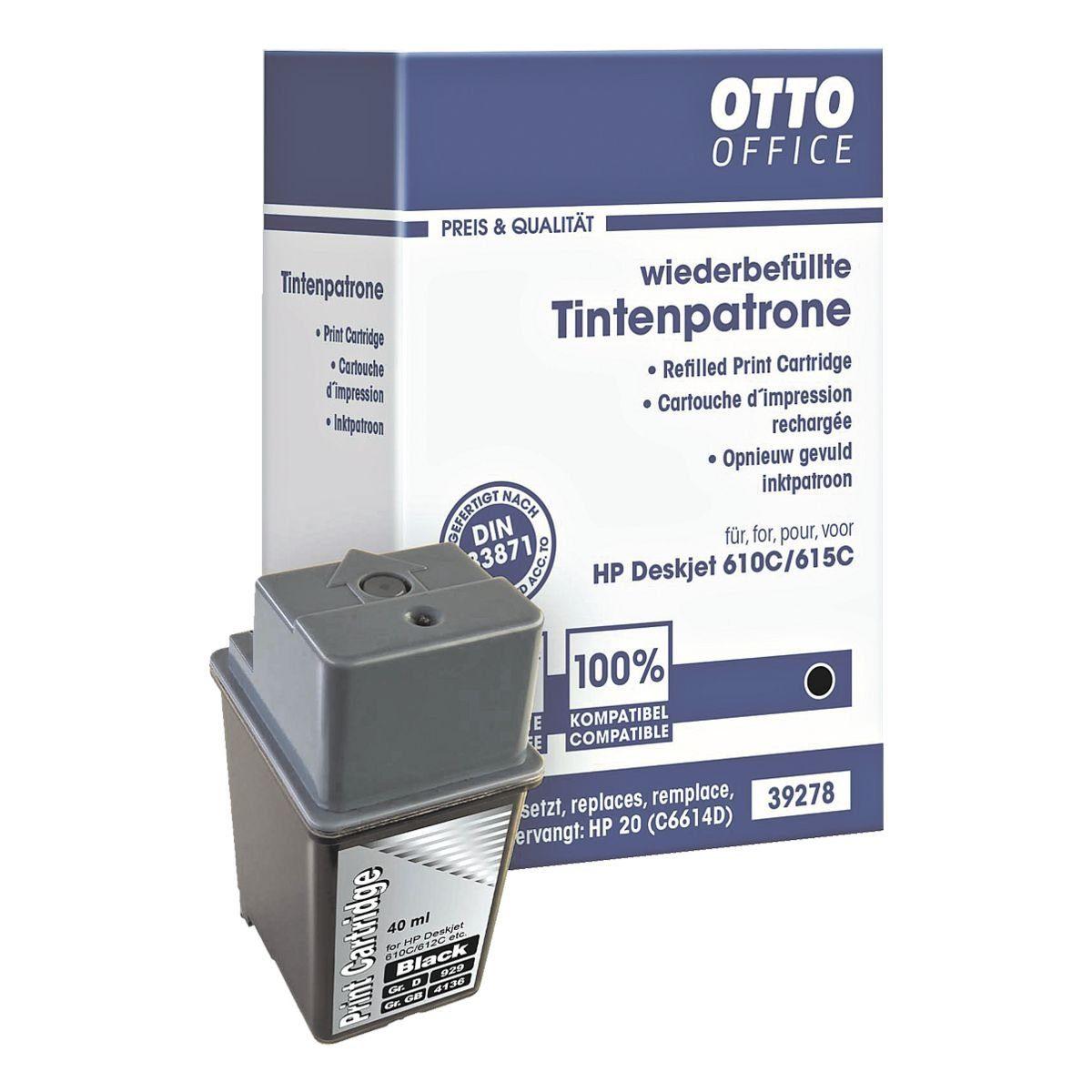 OTTO Office Standard Tintenpatrone ersetzt HP »C6614DE« Nr. 20