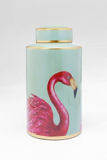 KARE Design Deko-Gefäß »Flamingos«