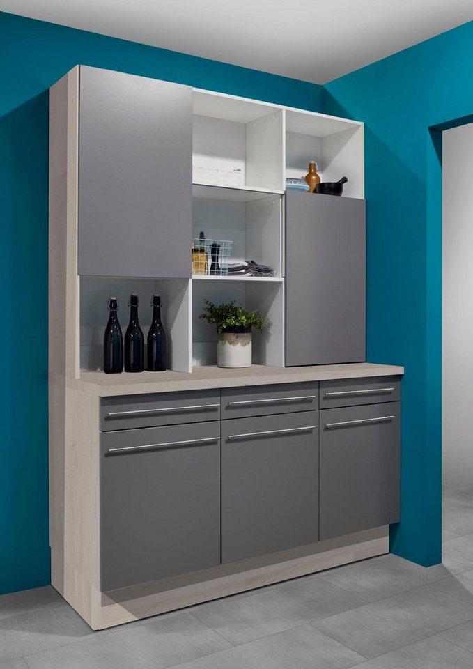 optifit aufsatzregal bern mit schiebet ren breite 150. Black Bedroom Furniture Sets. Home Design Ideas