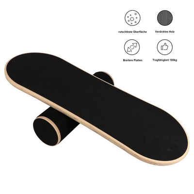 BIGTREE Balanceboard »Wackelbrett Holz Durchmesser 40cm«, Gleichgewicht Board- professionel für die Übung, Gym, Sport Performance Enhancement, Rehab, Ausbildung