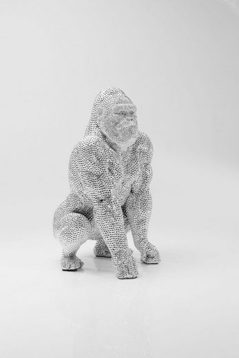 KARE Dekofigur »Shiny Gorilla«