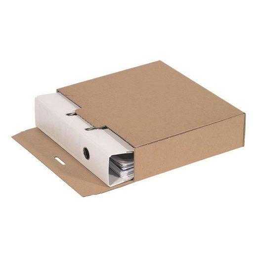 10er-Pack Ordner-Versandkartons 7,4 L - 10 Stück »Standard«