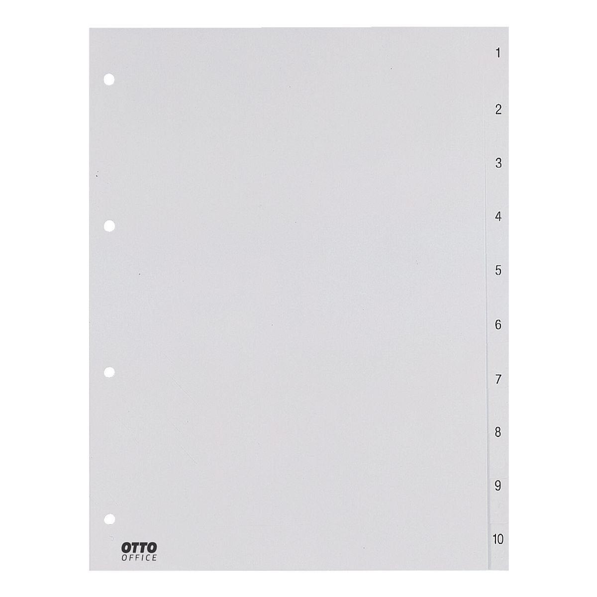 OTTO Office Standard Kunststoffregister, überbreit