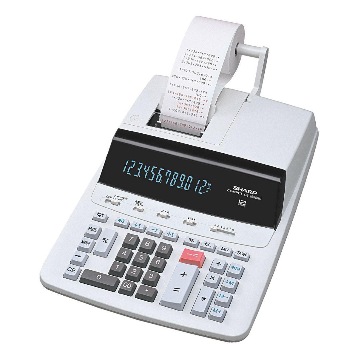Sharp Druckender Tischrechner »CS-2635RH«