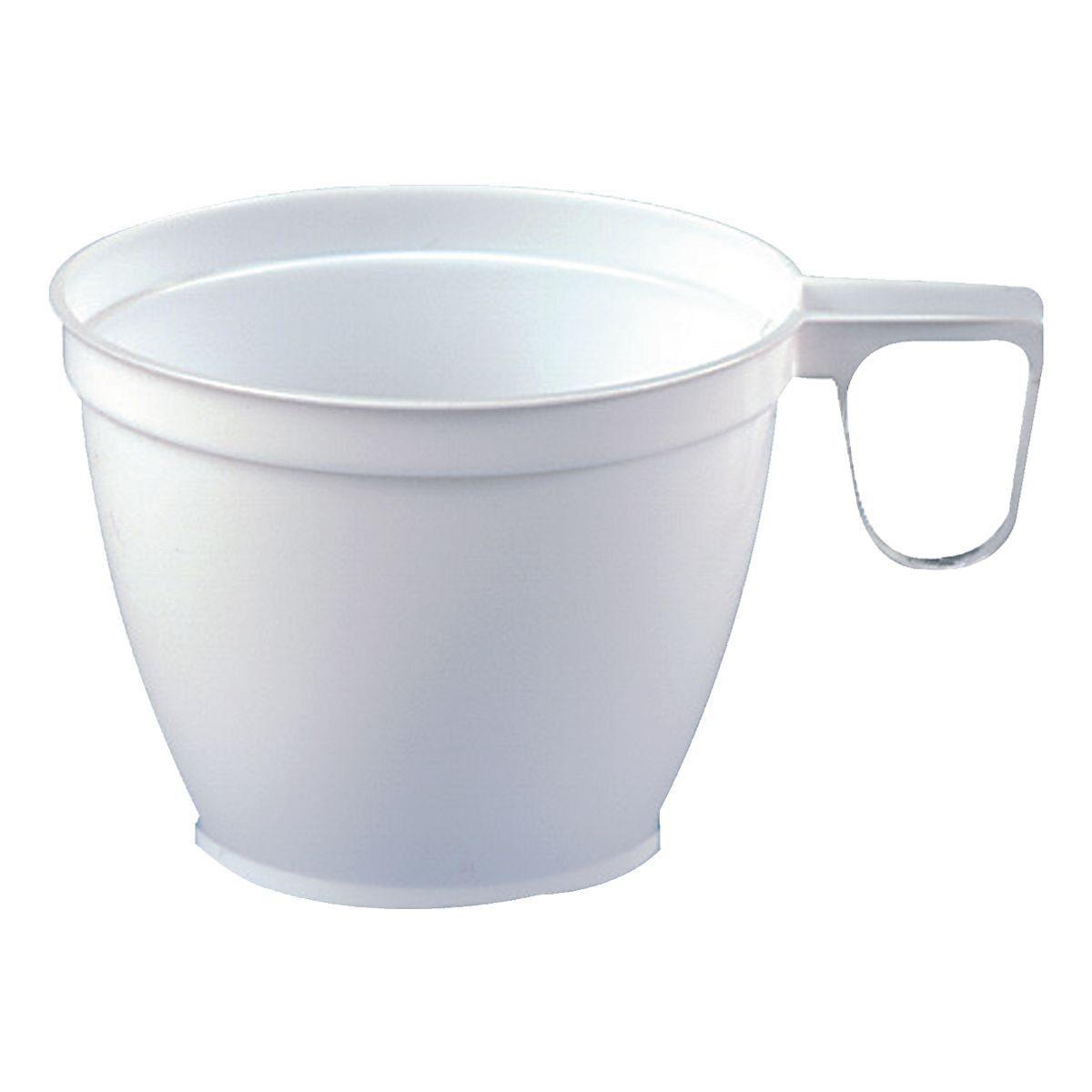 PAPSTAR 60 Einweg-Kaffeetassen 180 ml weiß