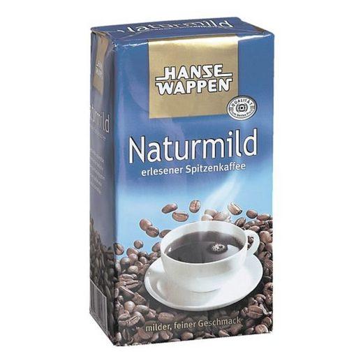 HANSEWAPPEN Kaffeemischung gemahlen 500 g »Naturmild«