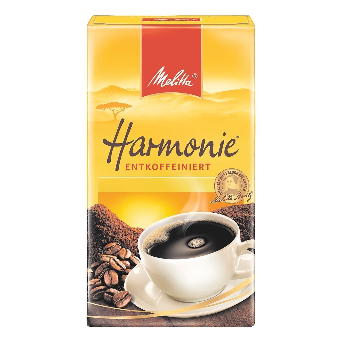 Melitta Kaffeemischung »Harmonie - entcoffeiniert«