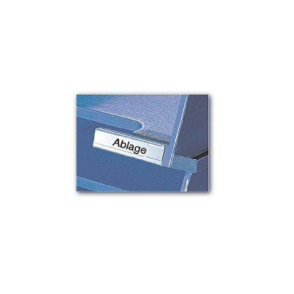 HAN Beschriftungsclips für Briefablage 1021 »De Luxe«