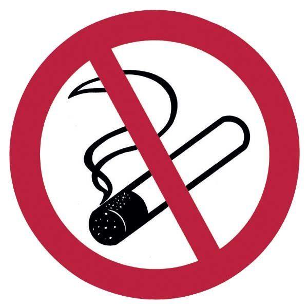 Hinweisschild »Rauchen verboten«