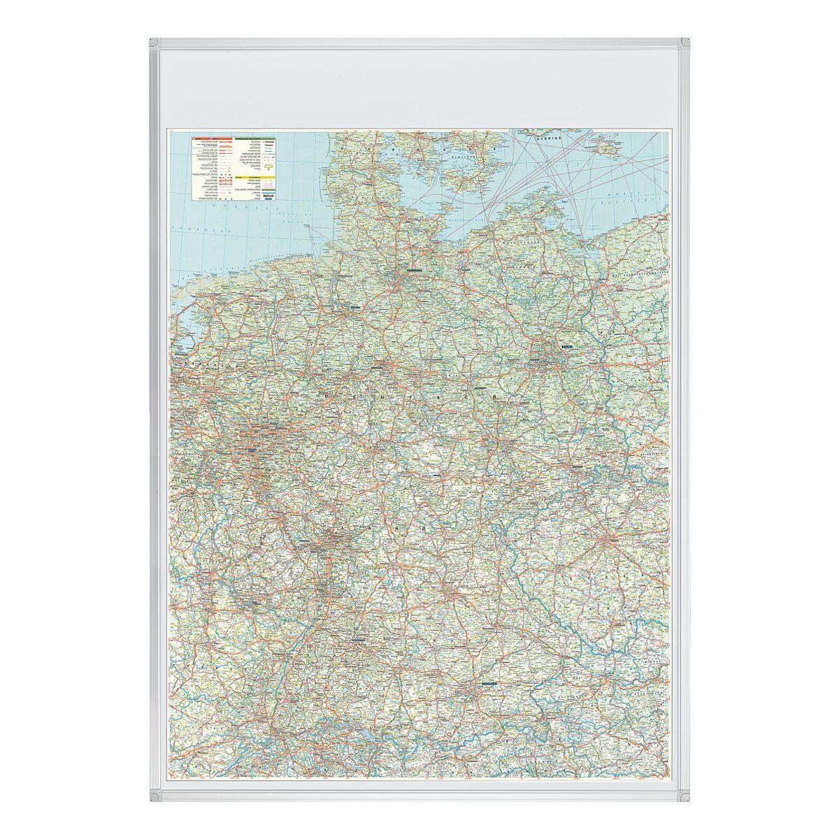 Franken Deutschlandkarte