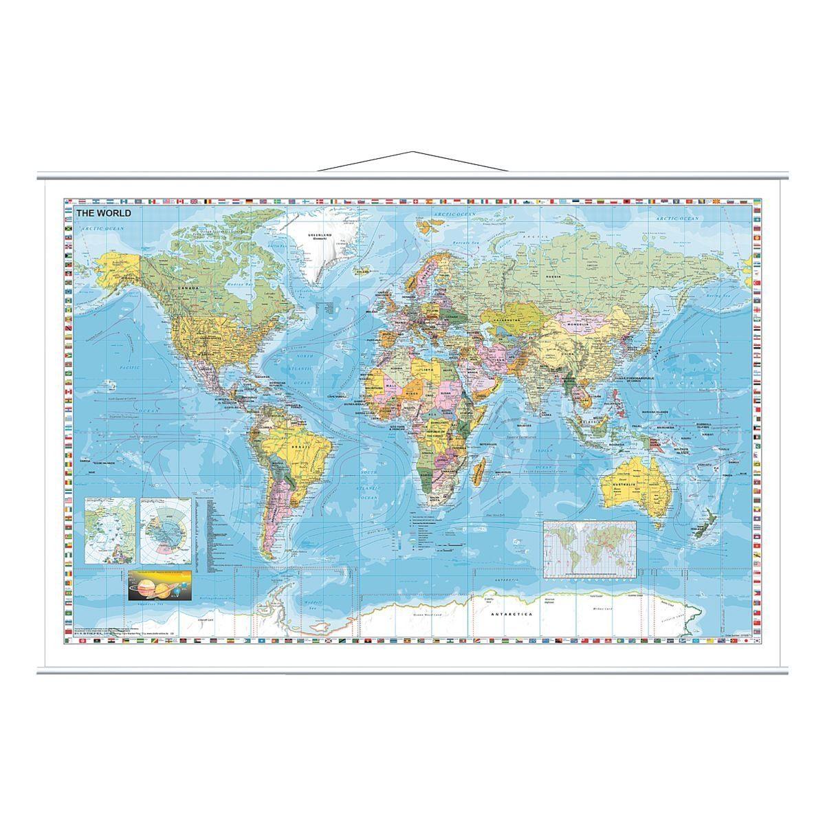 Franken Weltkarte