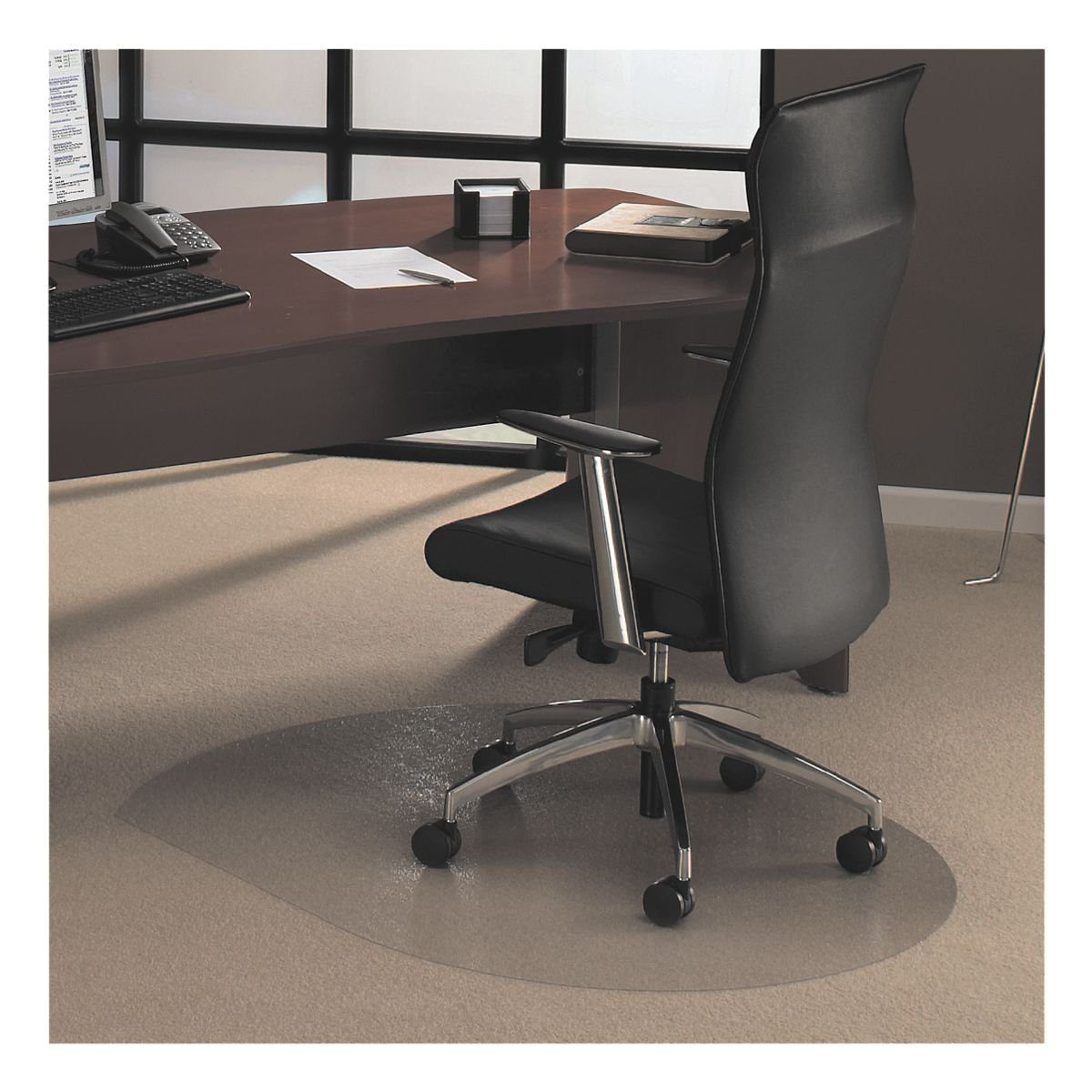 OTTO Office Standard Bodenschutzmatte 120x142 cm Form T für Teppichboden
