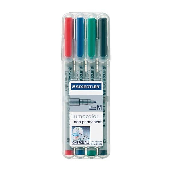 Staedtler 4er-Pack Universalstifte »Lumocolor non-permanent«