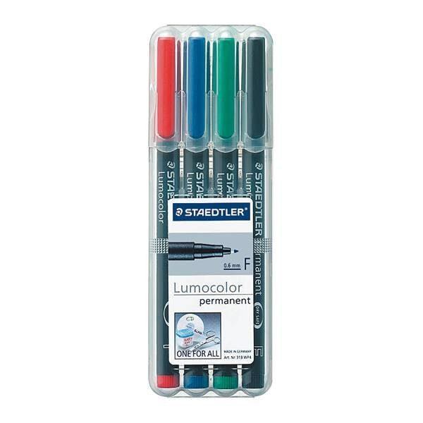 Staedtler 4er-Pack Universalstifte »Lumocolor permanent«