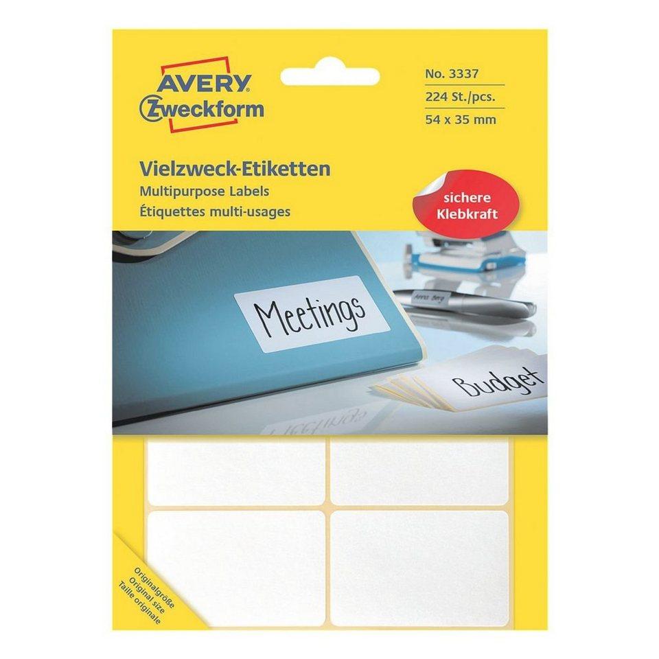 Avery Zweckform 224er-Pack Vielzweck-Etiketten »3337«