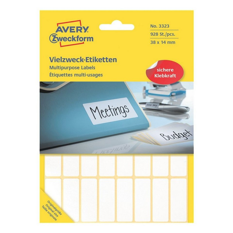 Avery Zweckform 928er-Pack Vielzweck-Etiketten »3323«
