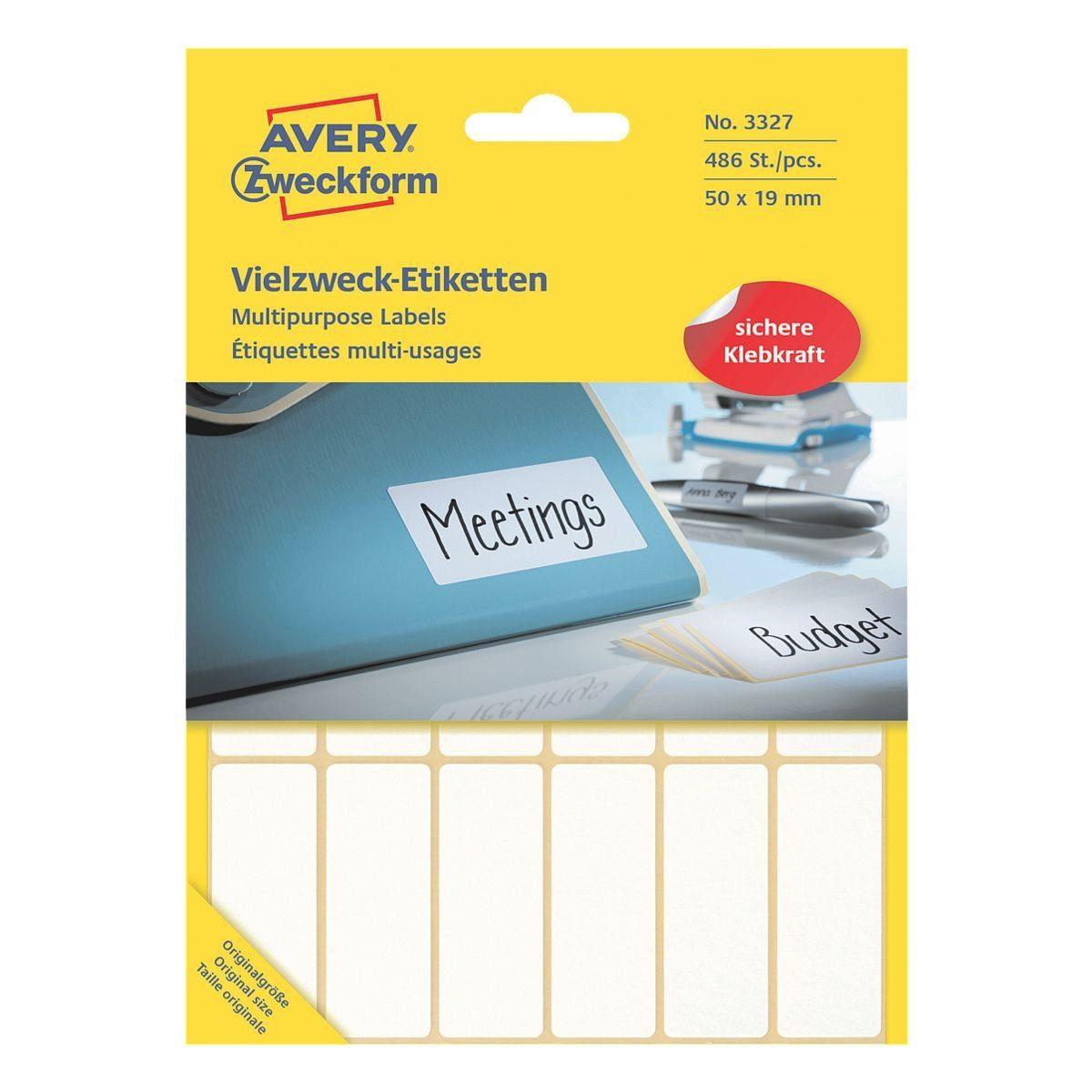 Avery Zweckform 486er-Pack Vielzweck-Etiketten »3327«