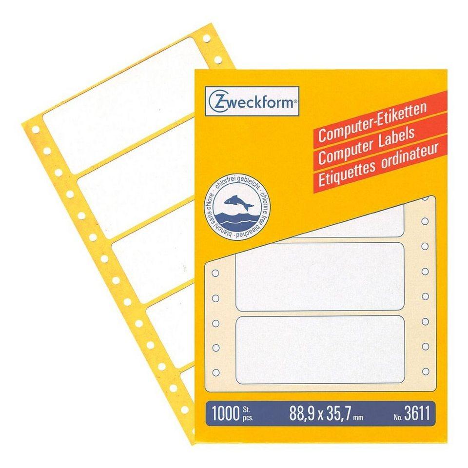 Avery Zweckform 1000er-Pack Endlosetiketten »3611«