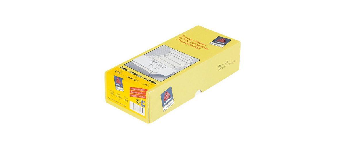 Avery Zweckform 4000er-Pack Endlosetiketten »3615«