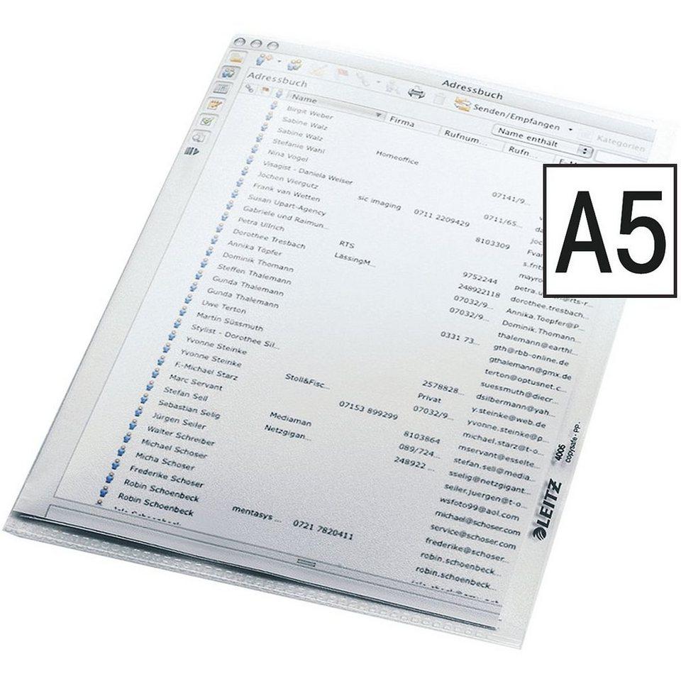 Leitz Sichthüllen »4005« in transparent